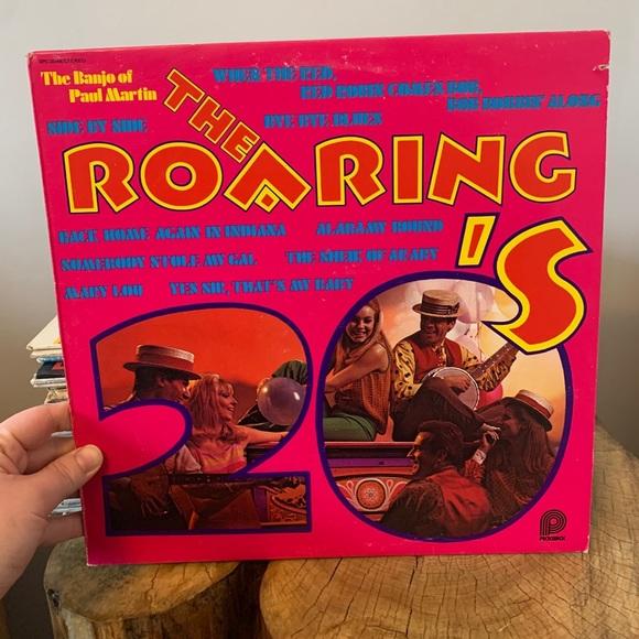 VINTAGE / Record / Jazz / The Roaring 20s / Banjo